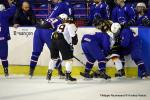 Photo hockey match France - Germany le 02/04/2018
