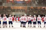 Photo hockey match France - Russia le 19/12/2013