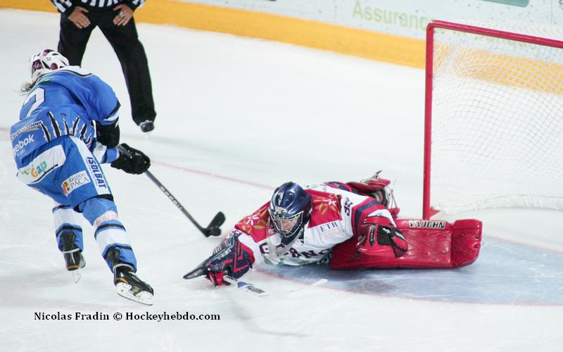 Photo hockey match Gap  - Grenoble