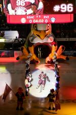 Photo hockey match Genève - Zug le 21/02/2020