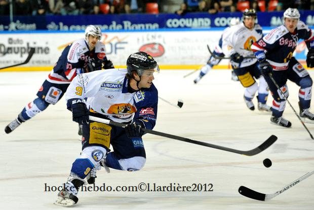 Photo hockey match Grenoble  - Chamonix