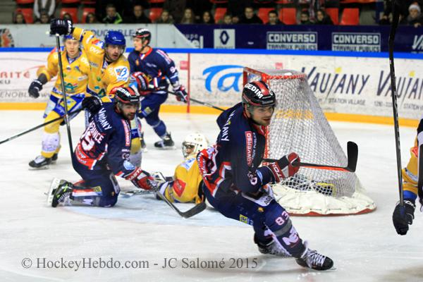 Photo hockey match Grenoble  - Dijon