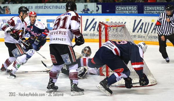 Photo hockey match Grenoble  - Morzine-Avoriaz