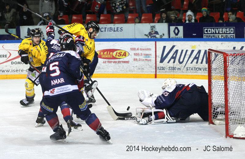Photo hockey match Grenoble  - Rouen