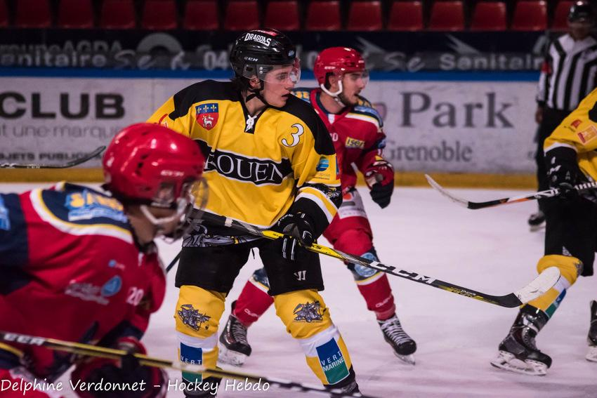 Photo hockey match Grenoble  - Rouen II