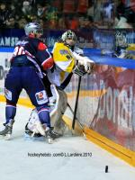 Photo hockey match Grenoble  - Strasbourg  le 12/01/2010