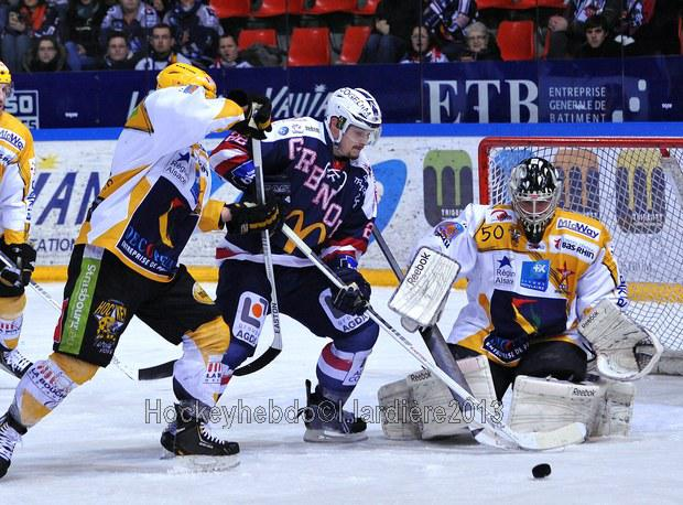 Photo hockey match Grenoble  - Strasbourg