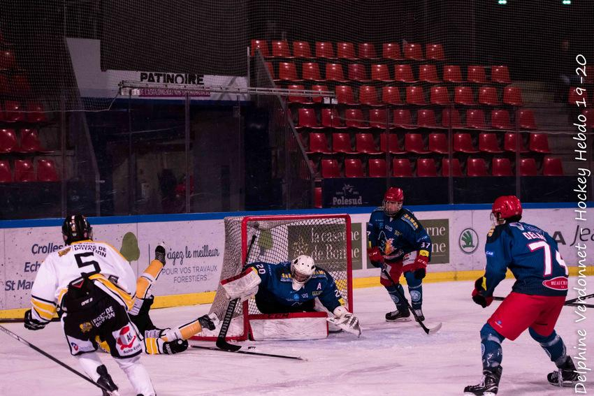Photo hockey match Grenoble U20 - Rouen U20