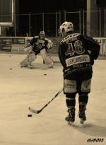 Photo hockey match La Roche-sur-Yon - Courchevel-Méribel-Pralognan le 04/04/2015