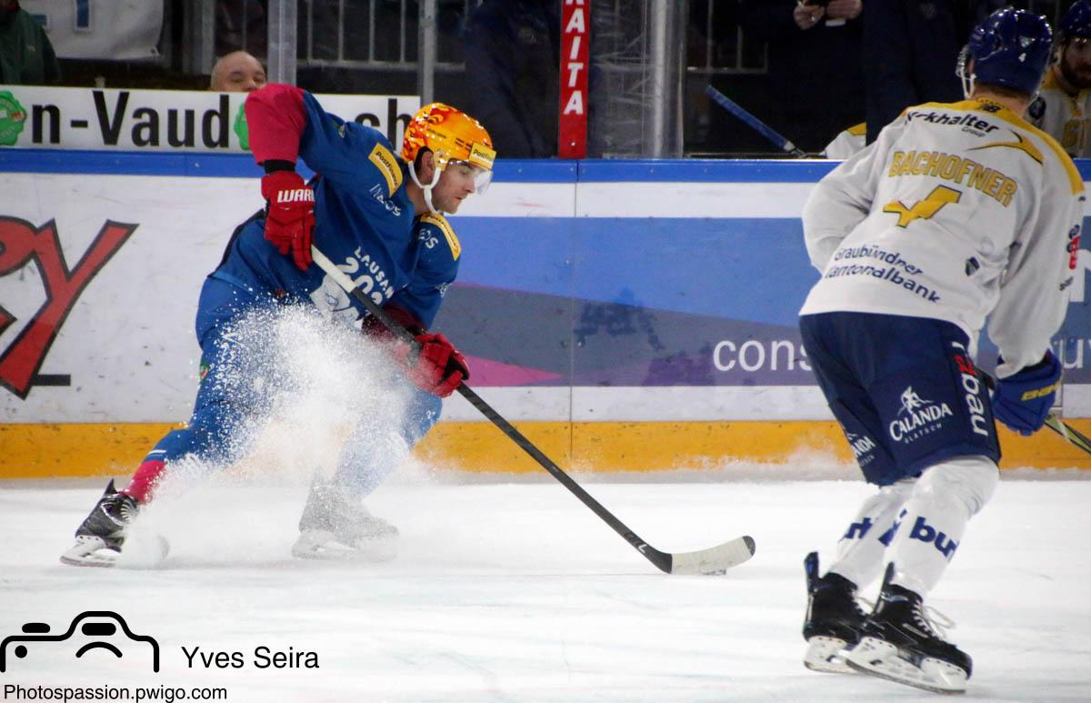 Photo hockey match Lausanne - Davos