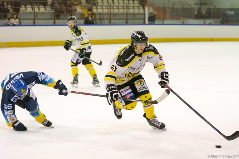 Photo hockey match Limoges - Roanne