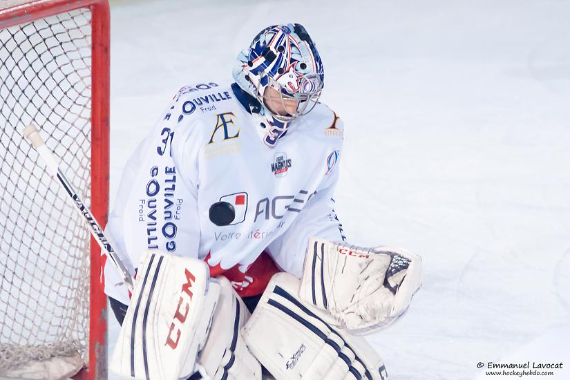 Photo hockey match Lyon - Caen