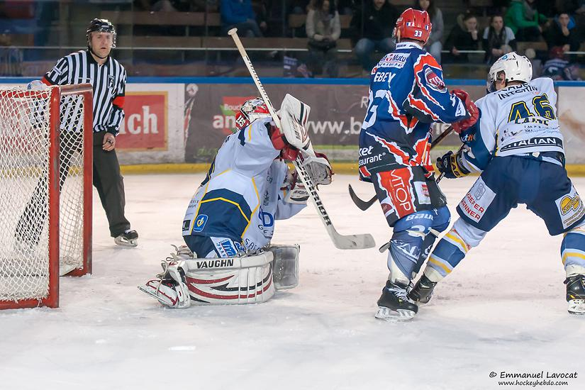 Photo hockey match Lyon - Dunkerque