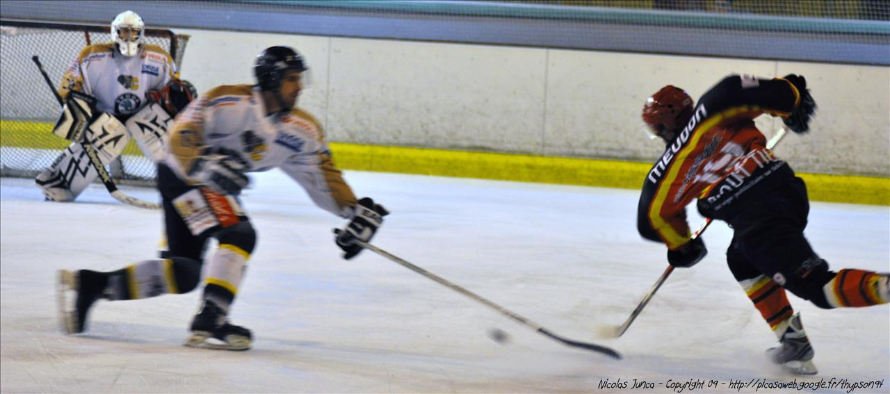Photo hockey match Meudon - Chambéry