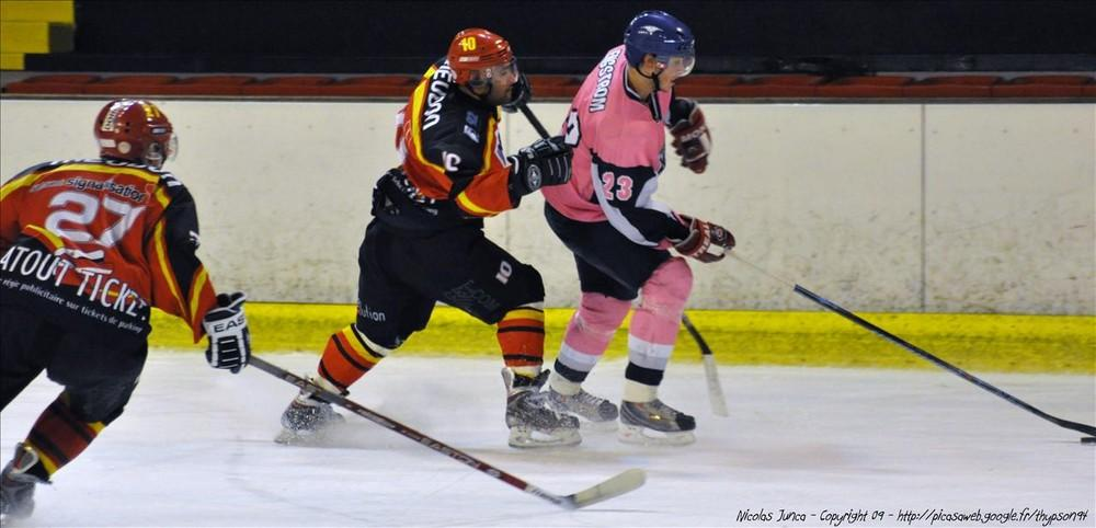 Photo hockey match Meudon - Paris