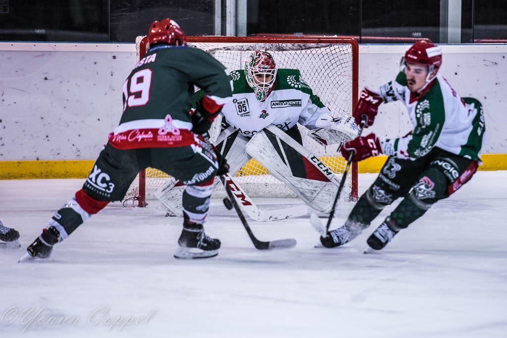 Photo hockey match Mont-Blanc - Cergy-Pontoise