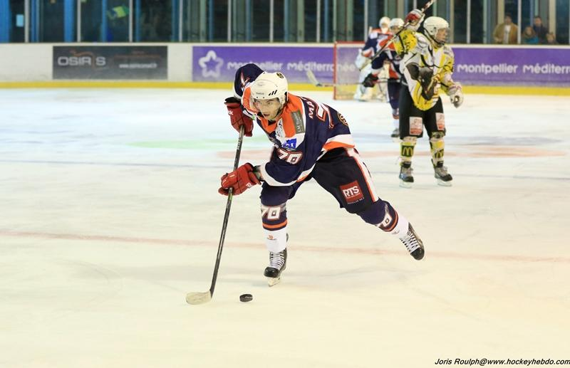 Photo hockey match Montpellier  - Chambéry II