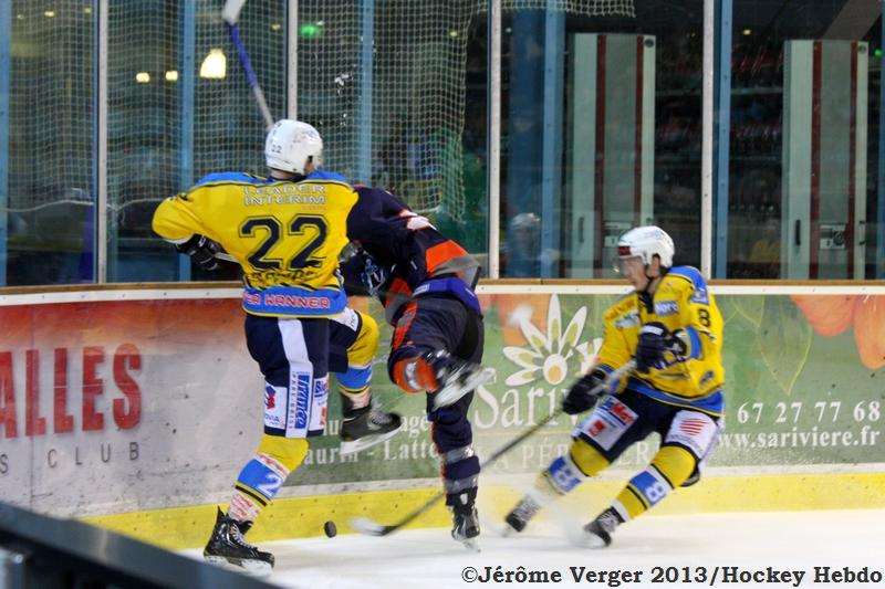 Photo hockey match Montpellier  - Dunkerque