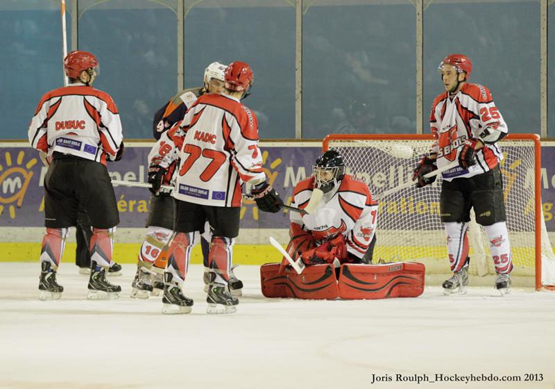 Photo hockey match Montpellier  - Neuilly/Marne