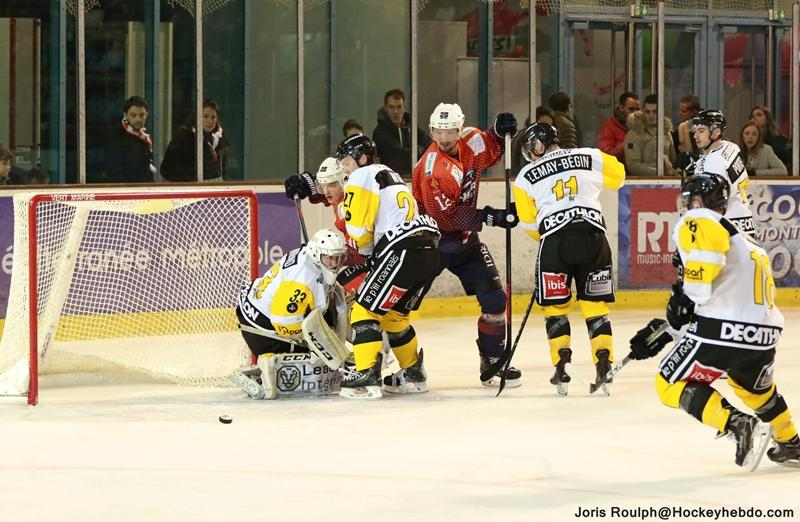 Photo hockey match Montpellier  - Roanne
