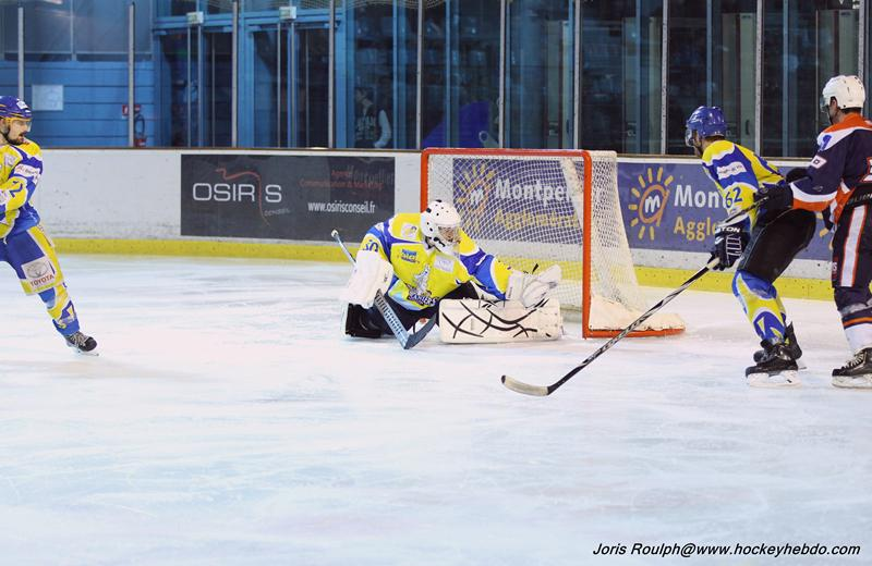 Photo hockey match Montpellier  - Toulon