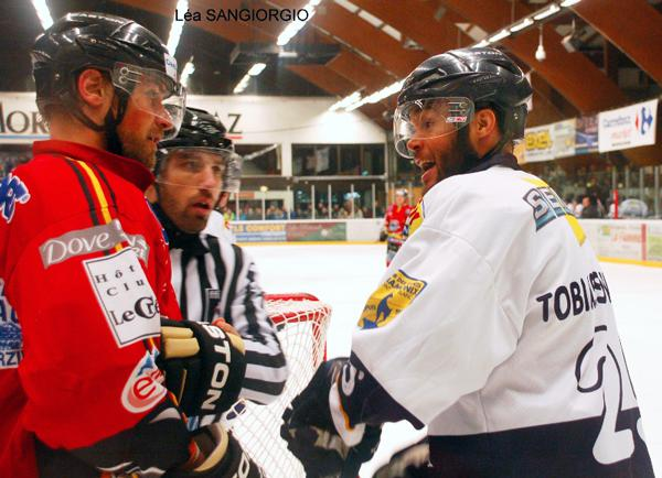 Photo hockey match Morzine-Avoriaz - Chamonix