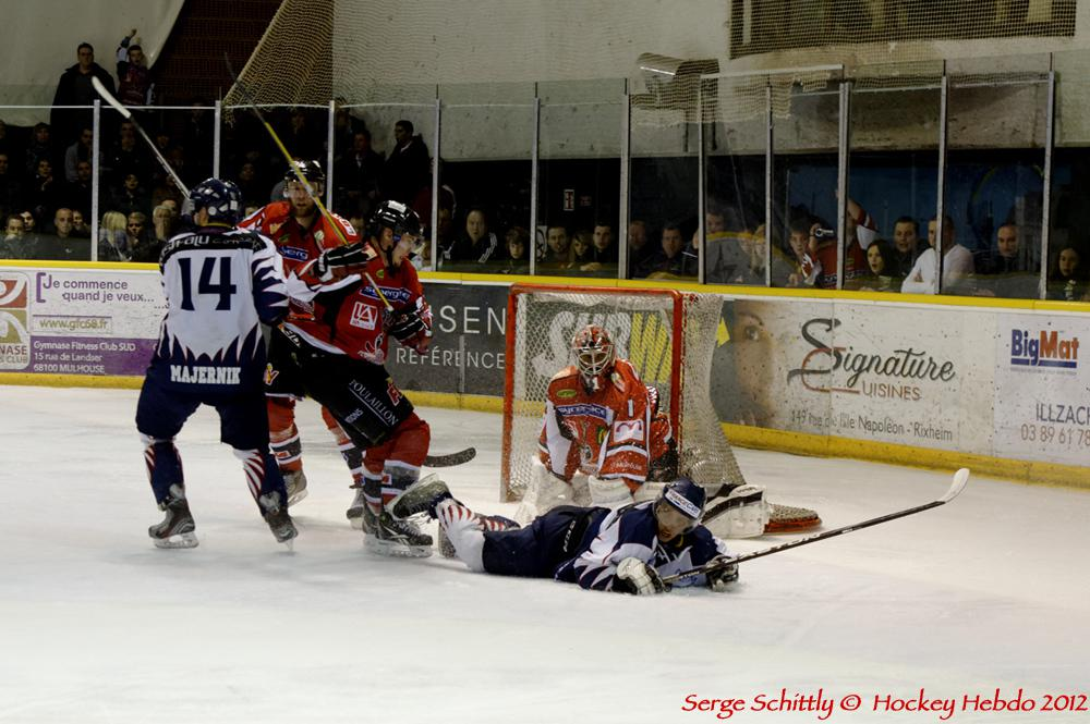 Photo hockey match Mulhouse - Nice