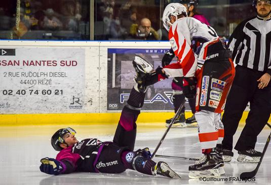 Photo hockey match Nantes  - La Roche-sur-Yon