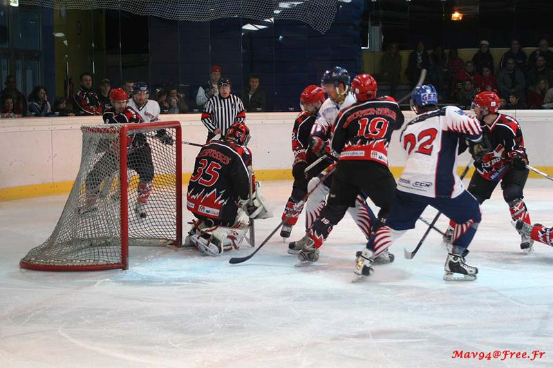 Photo hockey match Neuilly/Marne - Nice