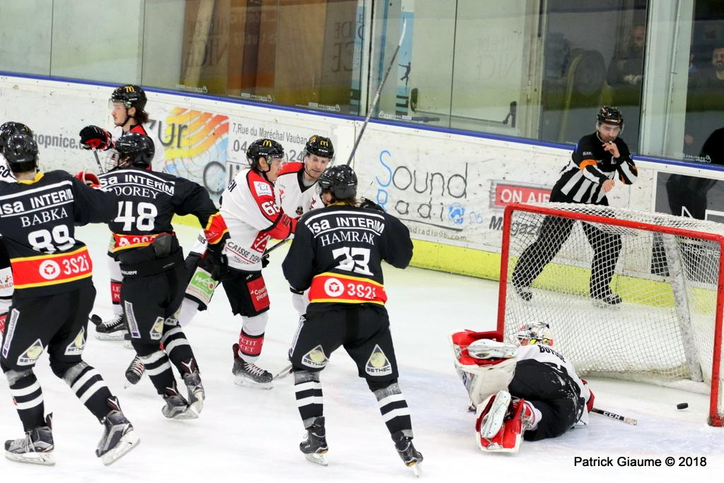 Photo hockey match Nice - Amiens