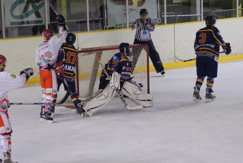 Photo hockey match Nice - Amnéville