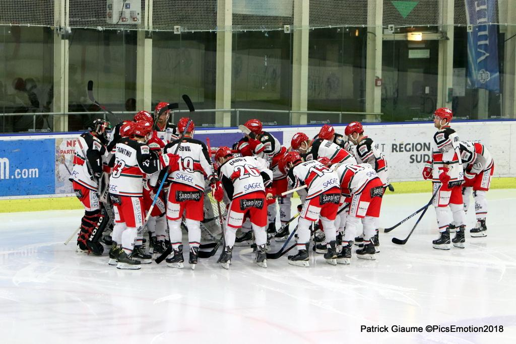 Photo hockey match Nice - Anglet