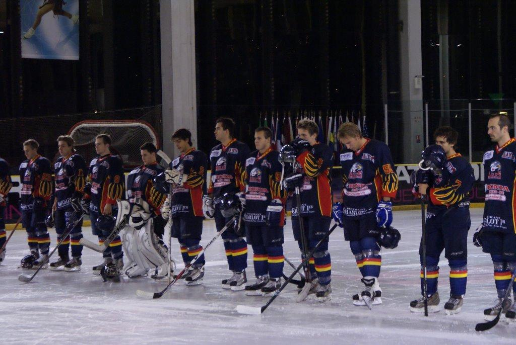 Photo hockey match Nice - Avignon