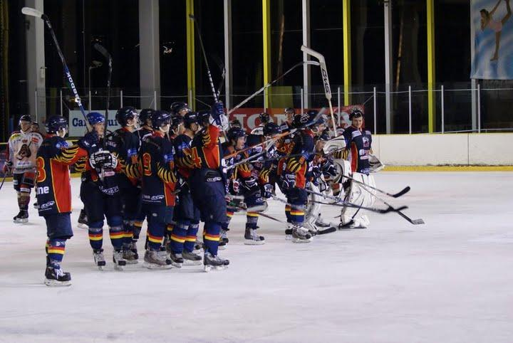 Photo hockey match Nice - Bordeaux
