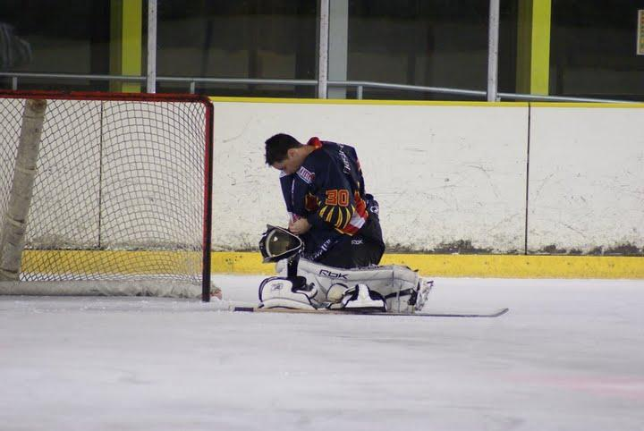 Photo hockey match Nice - Cergy-Pontoise