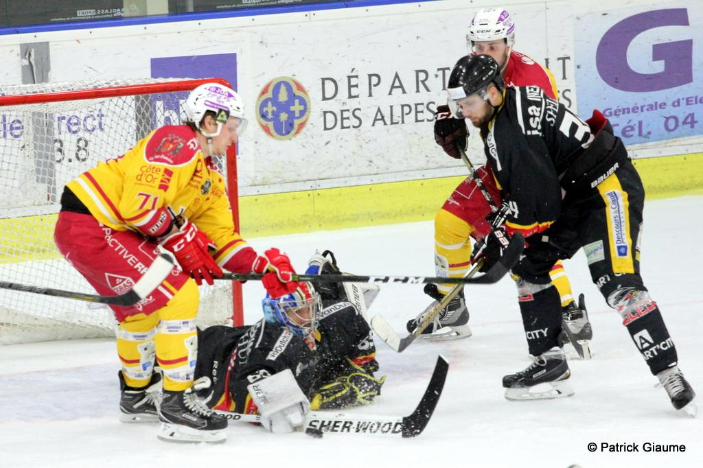 Photo hockey match Nice - Dijon