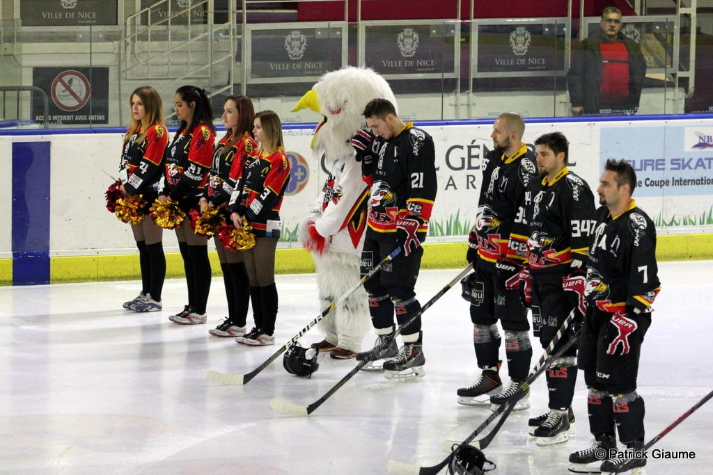 Photo hockey match Nice - Dunkerque