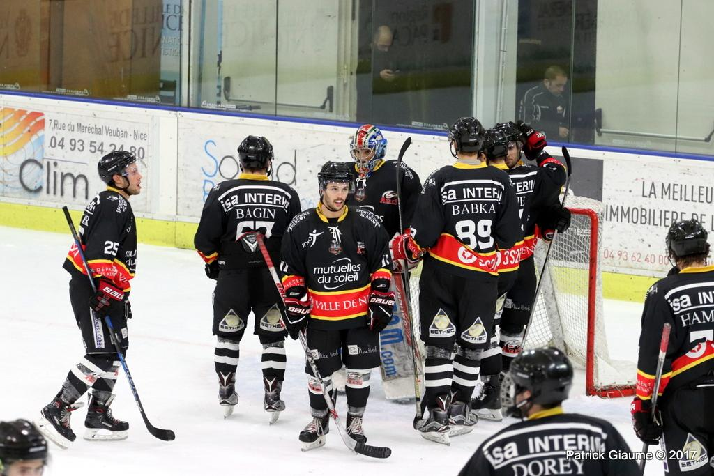 Photo hockey match Nice - Epinal