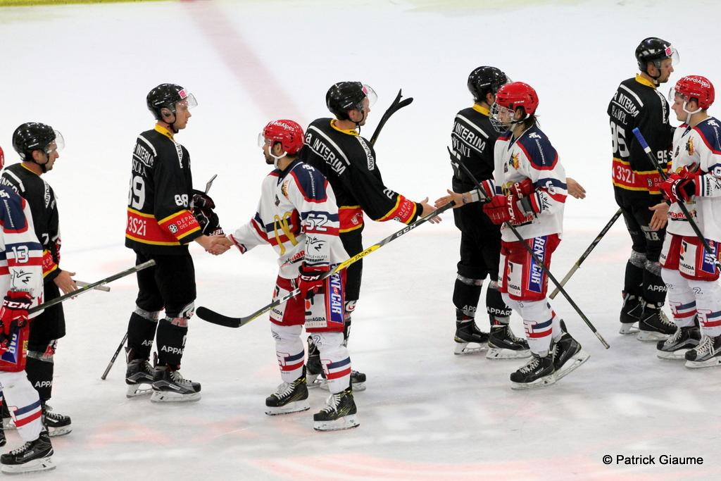 Photo hockey match Nice - Grenoble