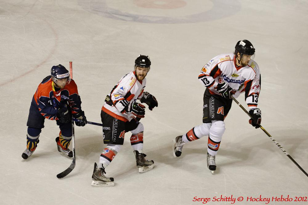 Photo hockey match Nice - Mulhouse