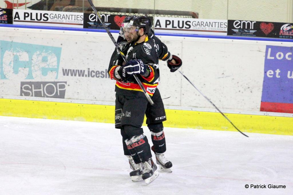 Photo hockey match Nice - Neuilly/Marne