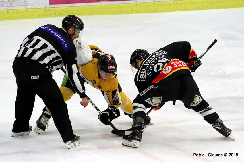 Photo hockey match Nice - Strasbourg