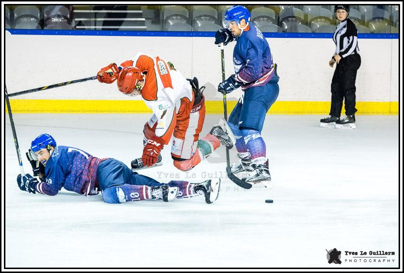 Photo hockey match Paris - Courbevoie