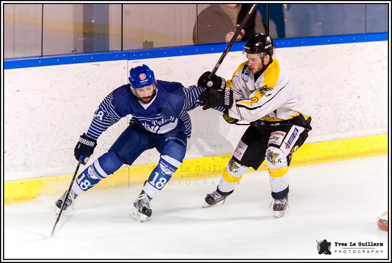 Photo hockey match Paris - Rouen II