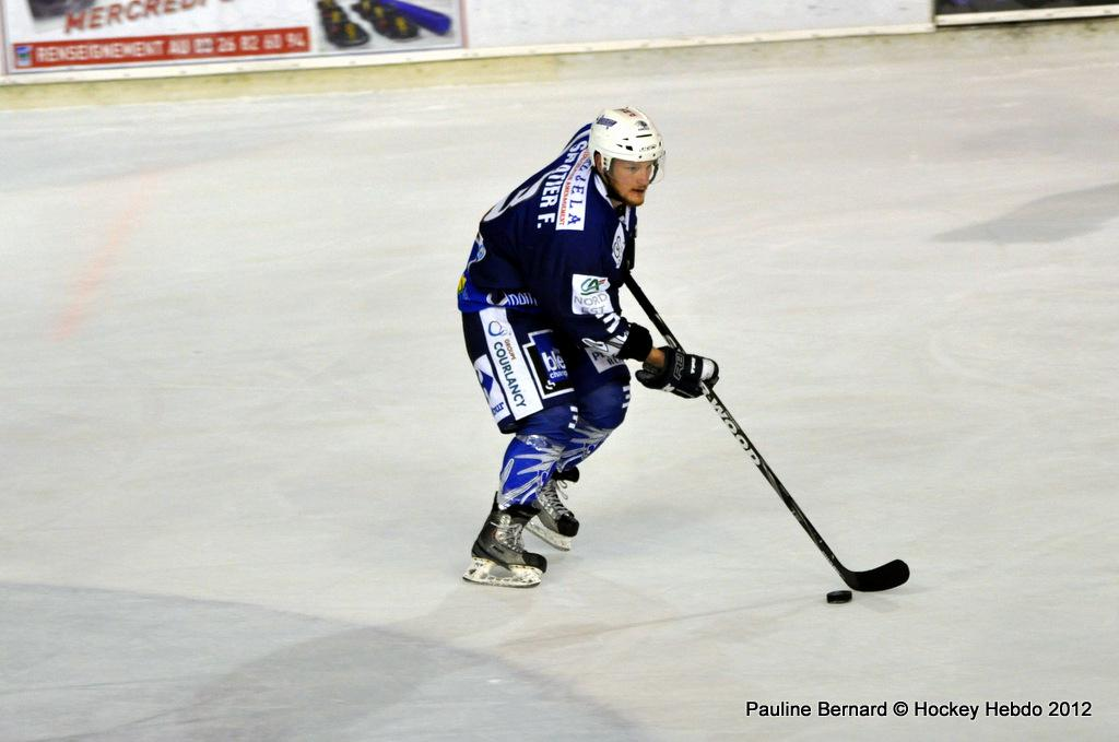 Photo hockey match Reims - Nice