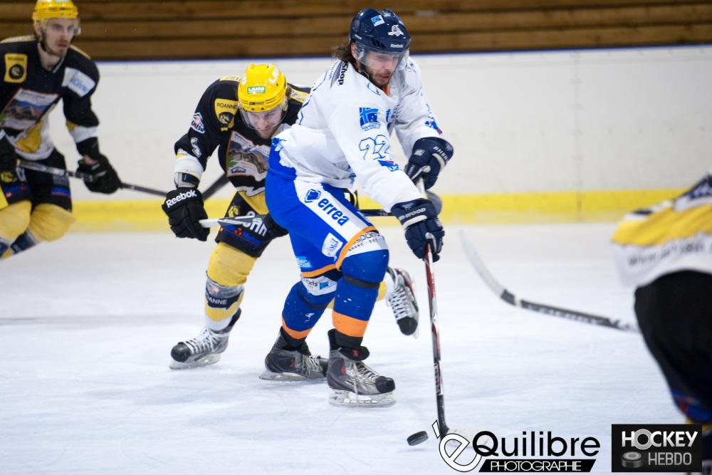 Photo hockey match Roanne - Marseille