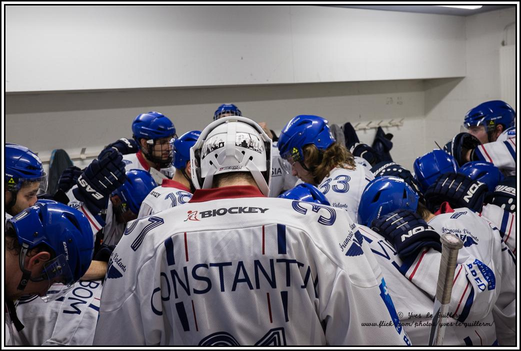 Photo hockey match Roanne - Paris