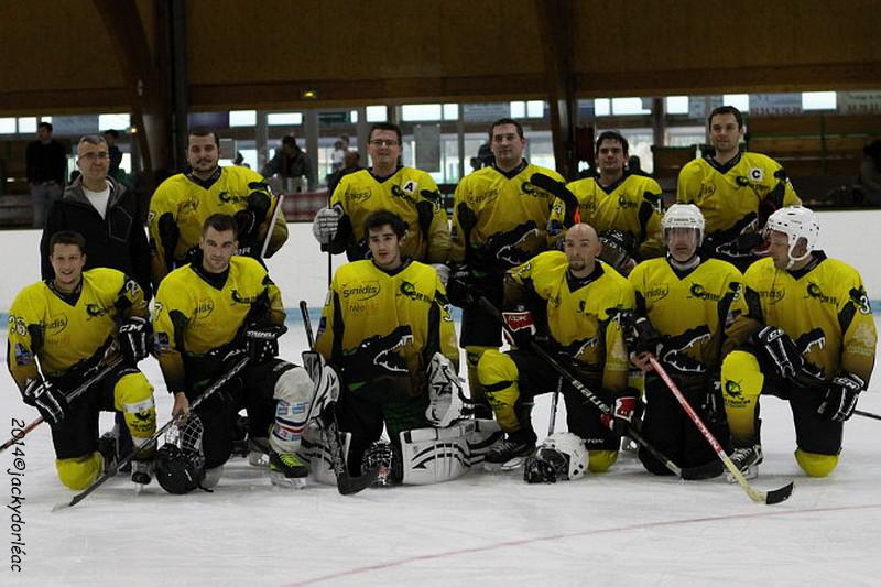 Photo hockey match Romorantin - Colombes