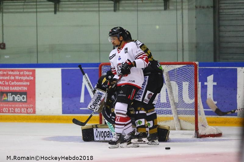 Photo hockey match Rouen - Bordeaux