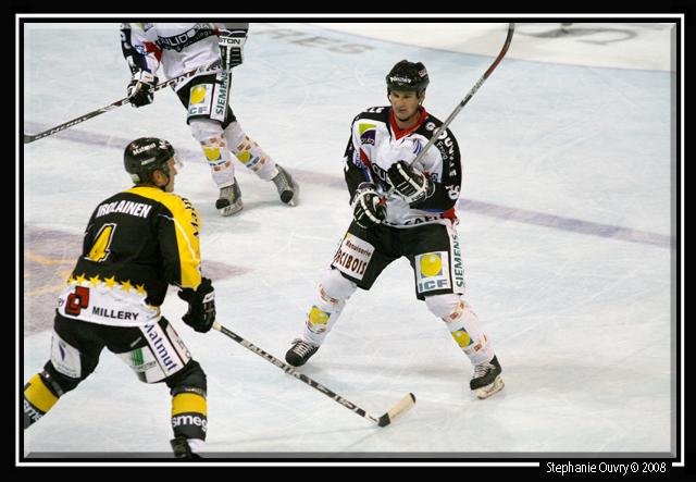 Photo hockey match Rouen - Caen